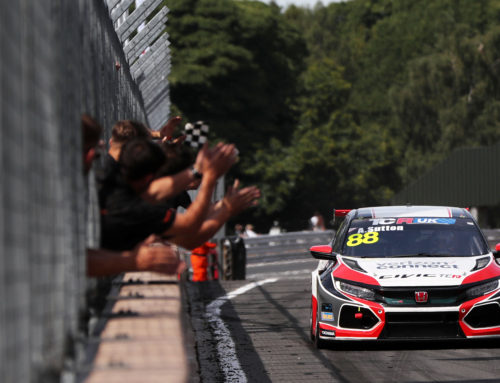 Clean sweep in TCR debut